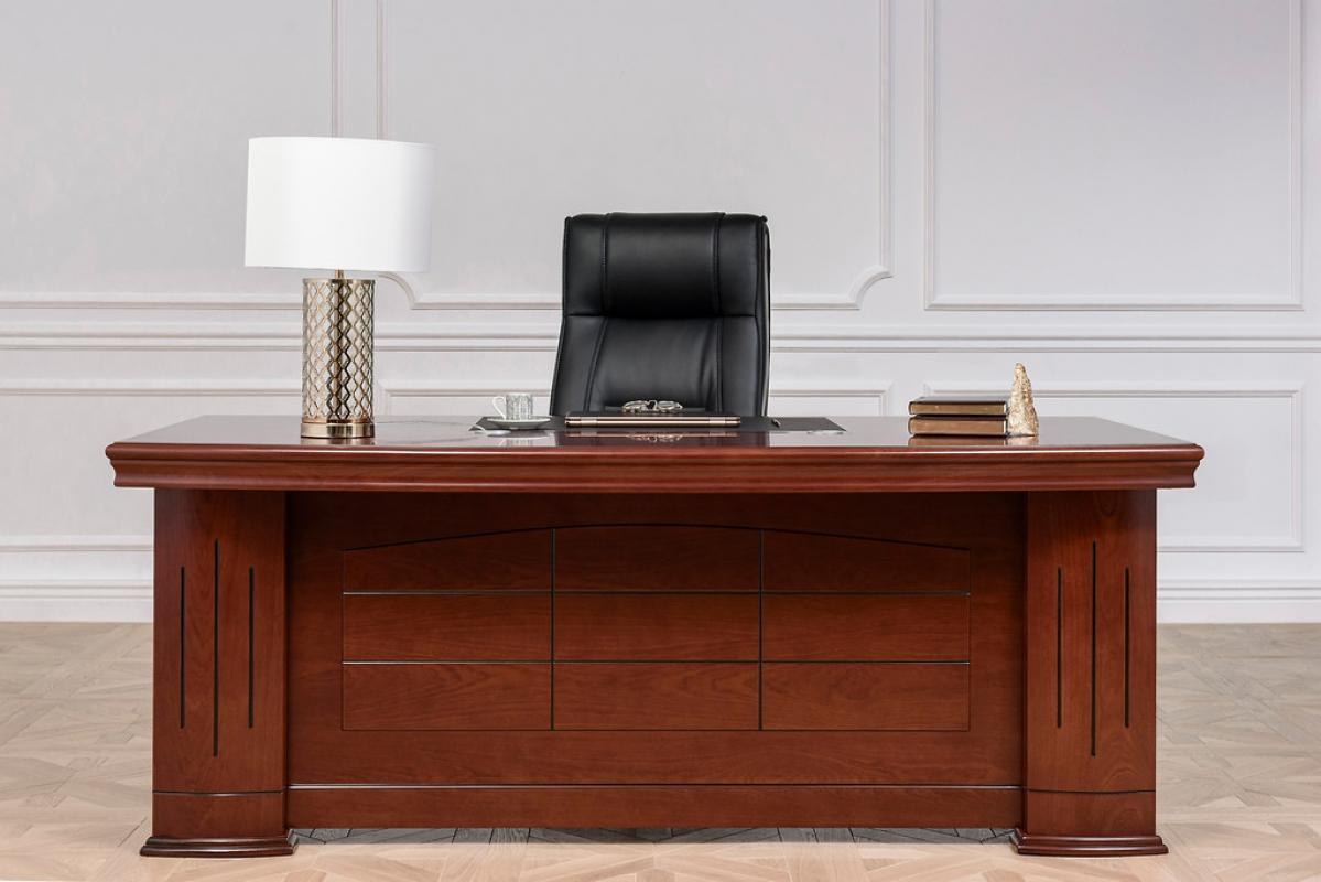 Scrivania presidenziale stile classico per ufficio o for Arredo ufficio presidenziale