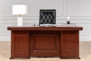 Scrivania presidenziale in stile classico per ufficio PRESTIGE B630 1,8 Metri