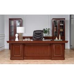 Completo ufficio PRESTIGE B710 in stile classico con scrivania 2,4 Metri