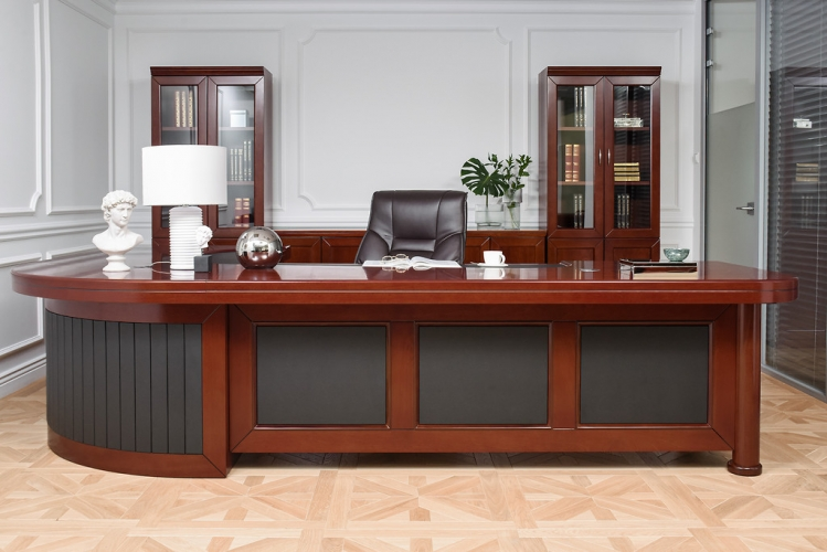 Arredamento set ufficio completo in stile classico for Arredamento completo ufficio