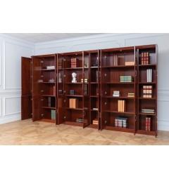 libreria con le ante aperte per uffici molto grandi