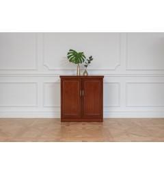 mobiletto basso di legno per uffici e studi