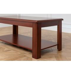 Tavolino basso da caffè in stile classico per ufficio o studio professionale PRESTIGE L520-3