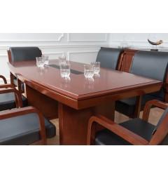Tavolo da conferenza e riunione in stile classico per ufficio o studio professionale PRESTIGE S610 da 1,8 Metri-3