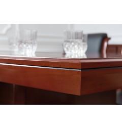 Tavolo da conferenza e riunione in stile classico per ufficio o studio professionale PRESTIGE S610 da 1,8 Metri-4