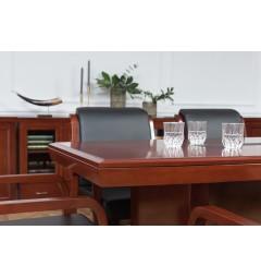 Tavolo da conferenza e riunione in stile classico per ufficio o studio professionale PRESTIGE S610 da 1,8 Metri-7