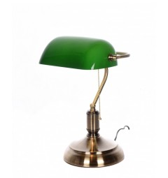 lampada verde da studio