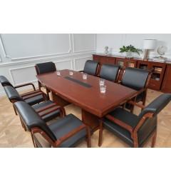 Tavolo-da-conferenza-e-riunione-in-stile-classico-per-ufficio-o-studio-professionale-PRESTIGE-S610-da-2-Metri-3