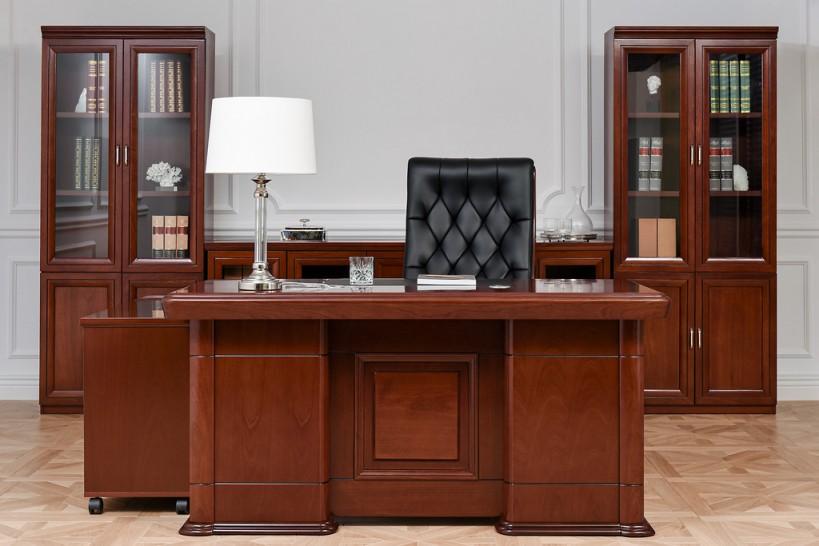 Completo ufficio PRESTIGE B630 in stile classico con scrivania 1,6 Metri