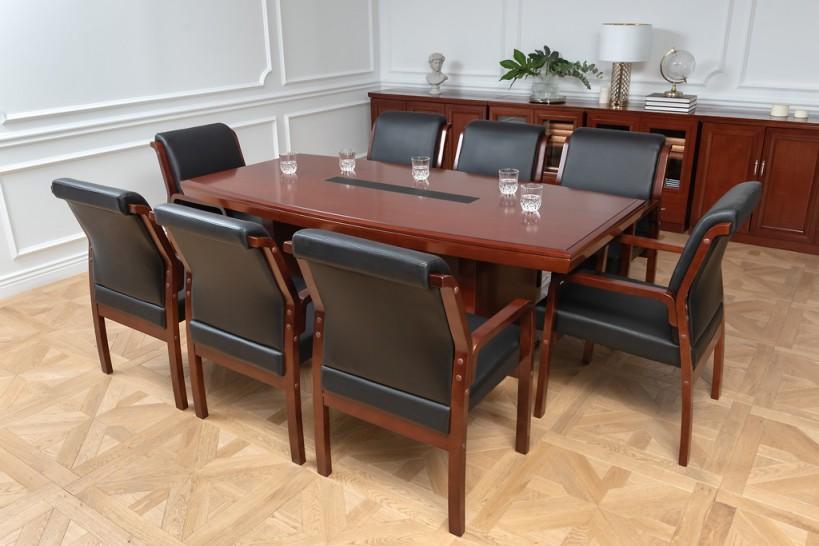 Arredo completo per sala riunione con tavolo riunione 8 posti e sedie