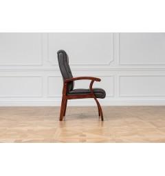 Sedia da sala riunione Comforte Marrone