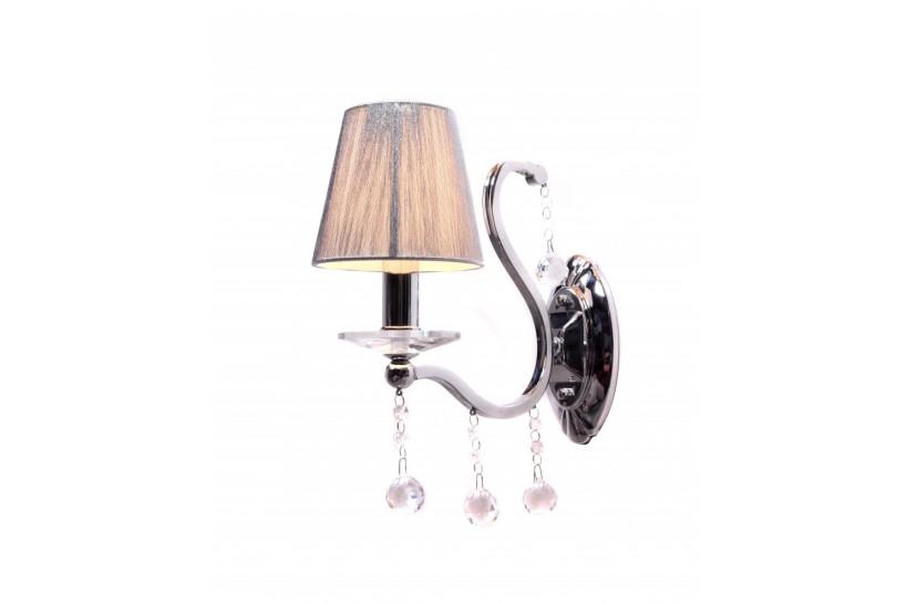 Applique lampada da parete Bellisica W1 Argento