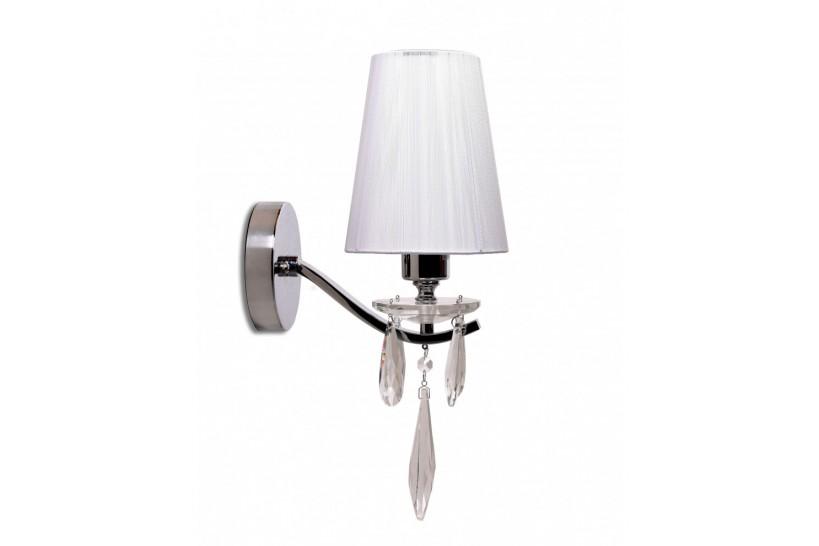 Applique lampada da parete Alessia W1 Bianco