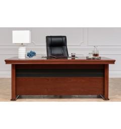 Scrivania direzionale in stile classico per ufficio o studio PRESTIGE B620 da 2 Metri