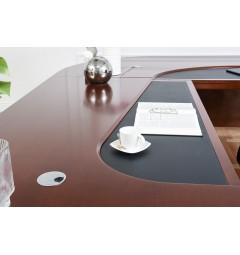 Scrivania direzionale in stile classico per ufficio o studio professionale PRESTIGE B810 da 3,3 Metri per manager e avvocati