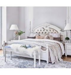 Letto colore Bianco 180 x 200 Princess 872