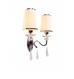 Applique lampada da parete Federrica W2 Bianco