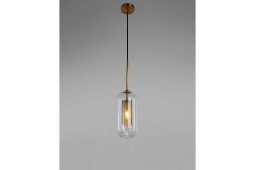Lampada a sospensione moderno di design in vetro ANTILLA OTTONE