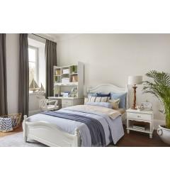 letto provenzale bianco