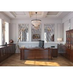 scrivania classica legno ufficio direzionale