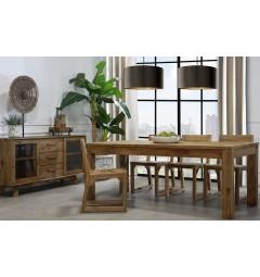 arredamento vintage industriale in legno