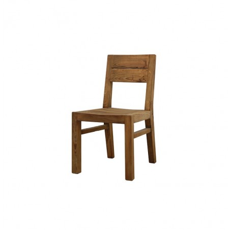 Sedia In Legno Massello Color Rovere Di Alta Qualita Arrediorg It