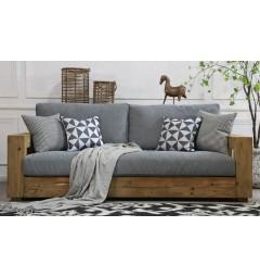 divano legno 3 posti