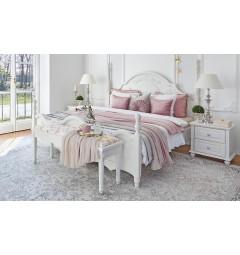 letto bianco matrimoniale due metri