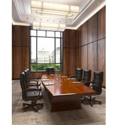 Tavolo da conferenza e riunione in stile classico per ufficio o studio professionale PRESTIGE S610 da 4 Metri