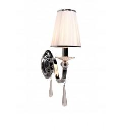 lampada applique da parete con paralume