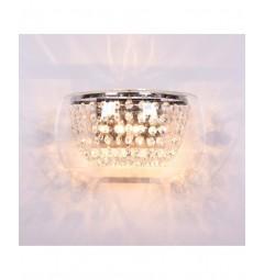 Applique lampada da parete Ideal Lux AUDI Trasparente