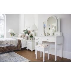 camera da letto provenzale bianca