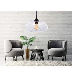 lampadario-moderno-di-design-a-sospensione-Tom-Dixon-Void-in-vetro-soffiato-colore-trasparente-in-stile-industriale-vintage-casa