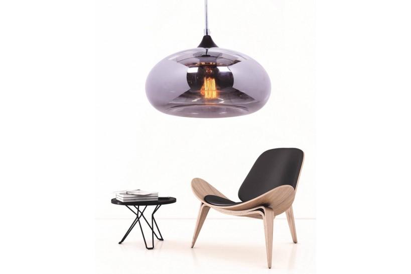 lampadario-moderno-di-design-a-sospensione-Tom-Dixon-Void-vetro-soffiato-colore-grigio-in-stile-industriale-vintage-casa-cucina
