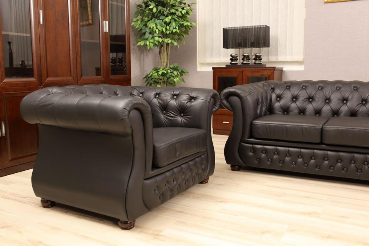 Ufficio Elegante Classico : Poltrona in pelle per uffici stile capitonnè chester chesterfield