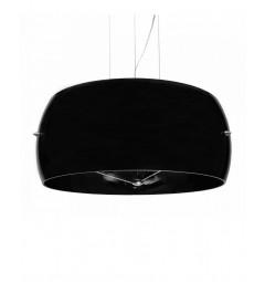 Lampadario a sospensione Ideal Lux AUDI Stilio D50 Nero