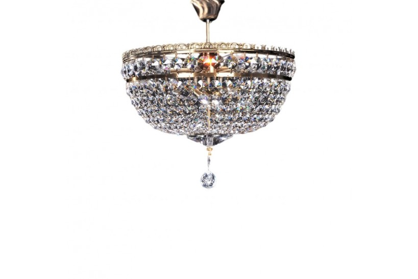 lampadari salotto classico in cristallo stile impero
