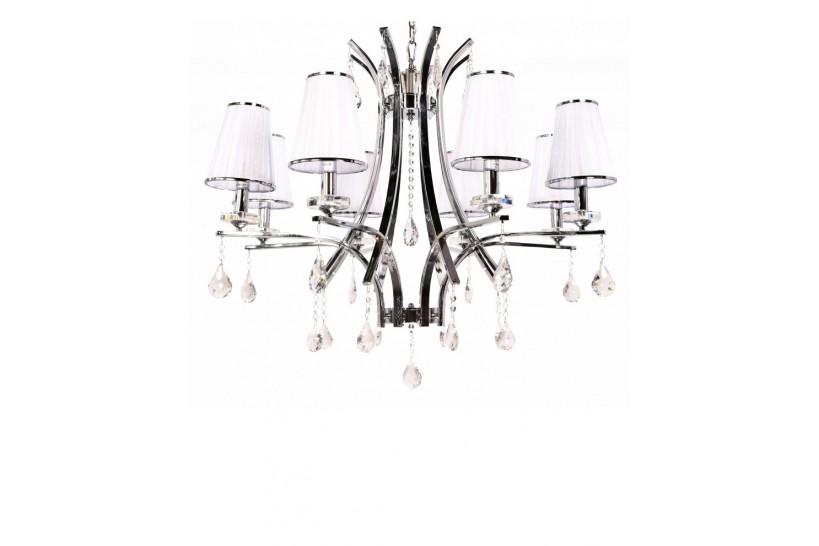 lampadari classici per camera da letto con cristalli