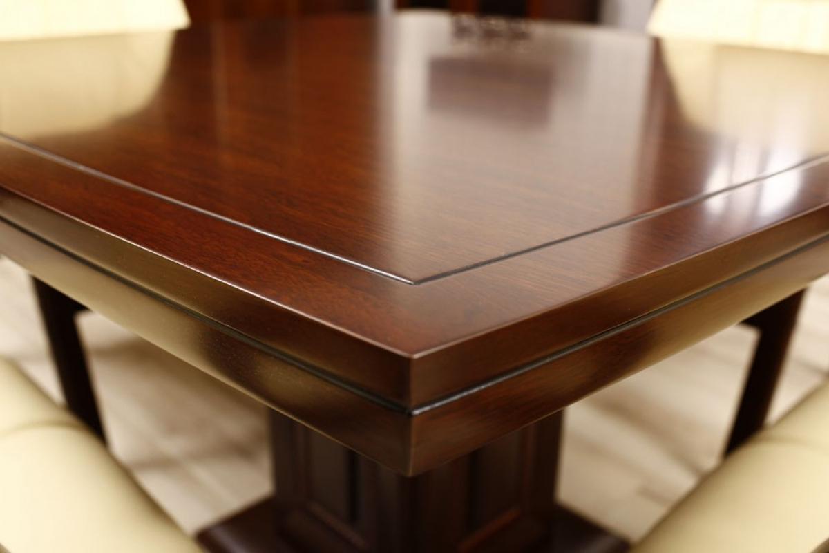 Tavolo da conferenza quadrato 80 cm for Tavolo ufficio quadrato