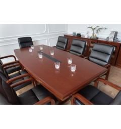tavolo riunioni 8 posti legno classico da ufficio