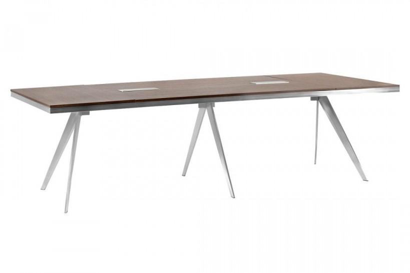 Tavolo da conferenza rettangolare per ufficio moderno PLATINUM 30D da 280 cm
