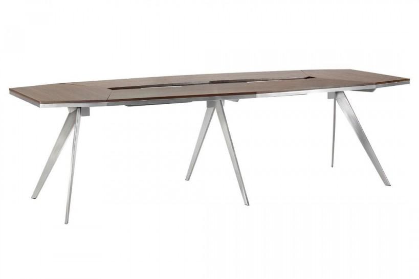 Tavolo da riunioni ovale in design moderno per ufficio PLATINUM 28D da 280 cm