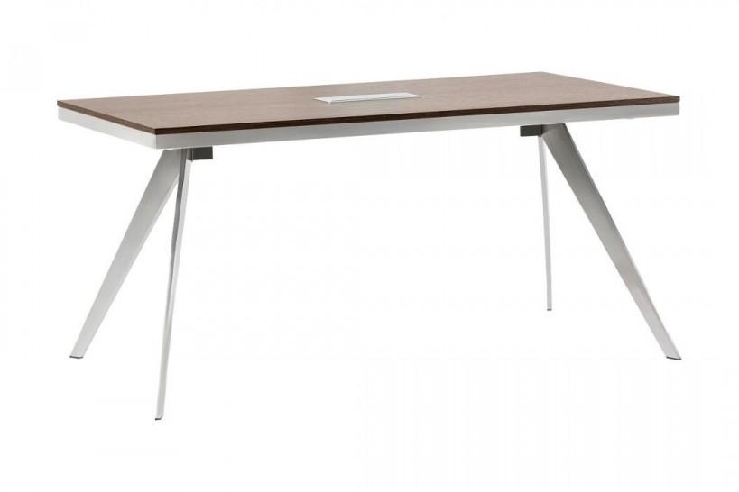 Tavolo da riunioni rettangolare per ufficio moderno PLATINUM 16B da 160 cm