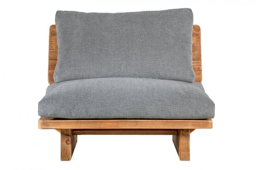 poltrona in legno massello