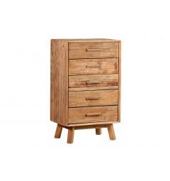 mobili legno naturale moderni in stile vintage
