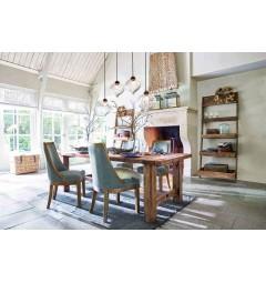 sala da pranzo in legno naturale rustico