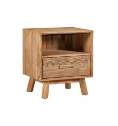 comodini rustici in legno