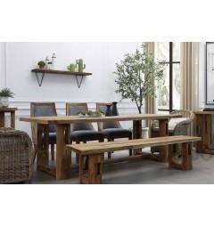 sala da pranzo rustica moderna