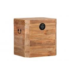 baule cassettiera in legno
