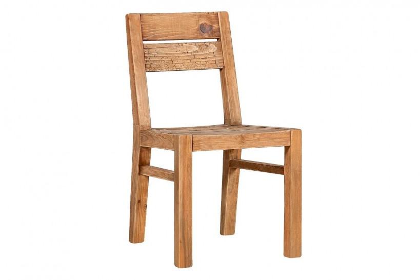 sedie rustiche in legno massello